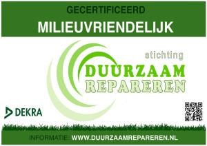 Duynker Milieu certificaat